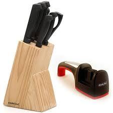 berghoff cook u0026 co 8 piece knife set black 7704603 hsn