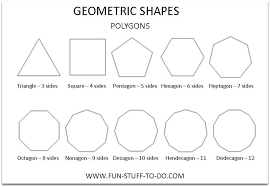 geometric shape worksheets worksheets