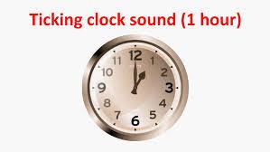weird clocks ticking clock sound 1 hour youtube