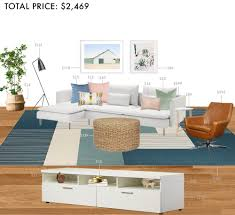 Livingroom Sectionals by Budget Rooms Colorful Living Room With Sectional Emily Henderson