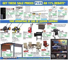 Menards Bed Frame Menards 11 Rebate Sale 8 20 17 8 26 17