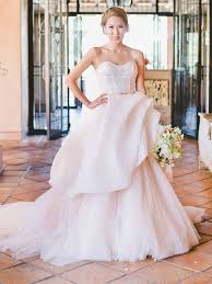pink wedding dresses the prettiest blush and light pink wedding gowns
