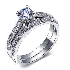 aliexpress buy u7 classic fashion wedding band rings new bridal wedding rings set engagement ring women classic design