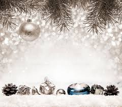 silver christmas silver christmas background and white snow stock photo more