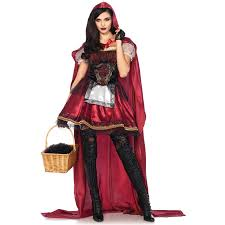 captivating miss red riding hood costume storybook halloween