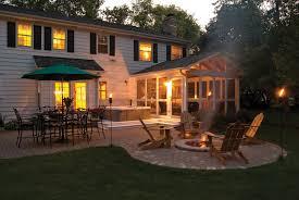 Screened Porch Makeover by Cheap Backyard Deck Ideas Backyard Landscape Design