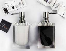 Acrylic Bathroom Accessories Buy Bonzai Bathroom Set Acrylic Bathroom Tumbler Toothbrush Holder