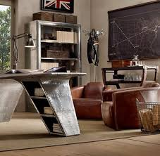 Masculine Home Decor 50 Dramatic Masculine Home Office Designs Comfydwelling Com