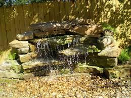 Waterfall Design Ideas Decorating Amazing Backyard Waterfalls Design Ideas Small Stone