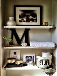 Decorate Bathroom Shelves Home Designs Bathroom Decor Ideas Modern Bathroom Shelves Decor