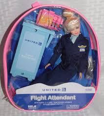 united airlines flight attendant blonde