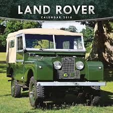 land rover jeep land rover calendar 2018 calendar club uk