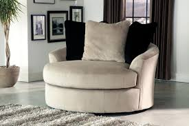 Ashley Furniture Living Room Chairs by Furniture Sophisticated Oversized Round Swivel Chair With