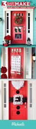 181 best decorating doors for the christmas holidays images on welcome holiday guests with festive door decor you can make these fun and whimsical decorations