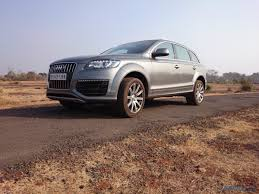 audi q7 modified 2015 audi q7 india launch likely in nov 2015 initial cars will be