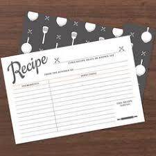 printable recipe cards 4 x 6 editable recipe cards recipe card printable recipe by lovevsdesign