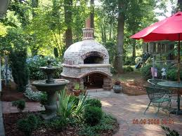 Build Brick Oven Backyard by 33 Best Brick Oven Images On Pinterest Outdoor Cooking Outdoor