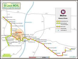 stl metro map st louis mo light rail system