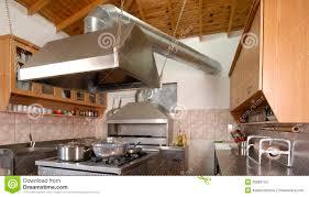 modern kitchen restaurant modern kitchen in restaurant stock photo image 35888124