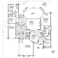 Single Garage Plans European Style House Plan 3 Beds 2 50 Baths 2551 Sq Ft Plan 310 374