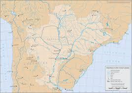 parana river map product detail