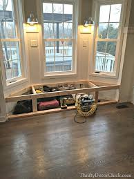 how to build a window seat a dream realized from thrifty decor chick