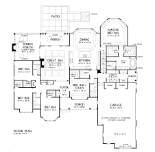 home plan the harper by donald a gardner architects basement stairs