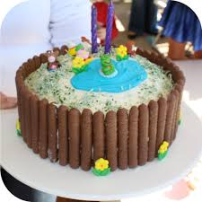simple birthday cake designs for kids birthday decoration
