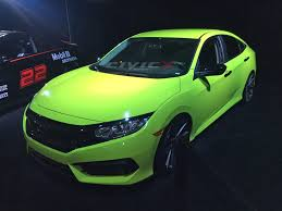 honda accord ricer first modified 2016 civic sedan by galpin auto sports 2016
