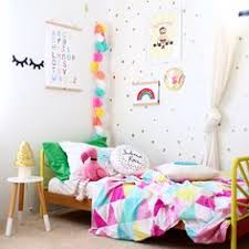 Rainbow Bedroom Decor Cool Kids Rooms Toddler Bedroom With Rainbows And Unicorns