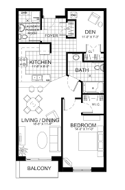 Den Floor Plan The Gardens Suites