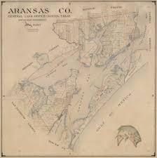 Austin County Map by Aransas County 1947 U2013 Save Texas History U2013 Medium