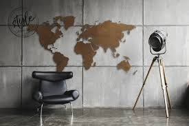 World Map Wall Decor by ᐅ Wall Decor U2022 World Map Wall Pictures