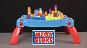 mega bloks first builders table first builders build n learn table from mega bloks youtube
