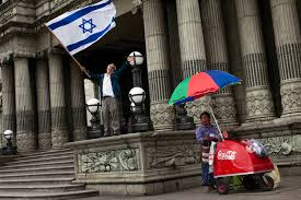 Israel Flag For Sale Guatemala U0027s Ties With Israel Drive Jerusalem Embassy Move Decision
