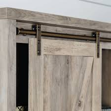Faux Barn Doors by Better Homes And Gardens Modern Farmhouse Storage Cabinet Rustic