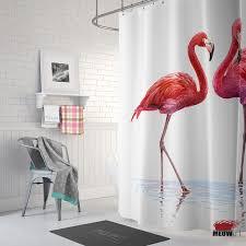 Flamingo Shower Curtains Aliexpress Com Buy Sporting Pink Flamingos Shower Curtain