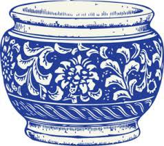 Blue And White Vase Blue And White Vase Clip Art At Clker Com Vector Clip Art Online