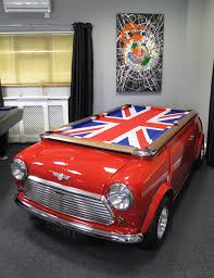Mustang Pool Table Mini Cooper Car Pool Table Classic Mini Cooper Pinterest