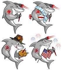 tuff writer shark mascot deviche designs