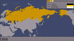 Map Of Alaska And Russia by The History Of Russia Every Year Youtube