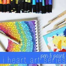 pen u0026 paint little light prints i heart art