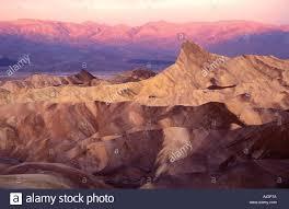 Light Of Dawn Pink Light Of Dawn Over Zabriskie Point Death Valley National Park