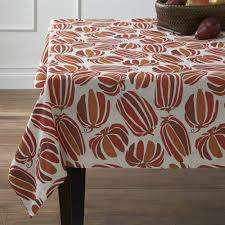 decor u0026 tips fall tablecloths with rectangle dining table and