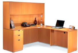 realspace landon desk with hutch office desk and hutch cross island home office short desk hutch