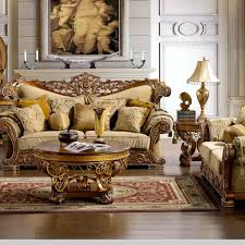 living room with carved elegant furniture choosing tips for