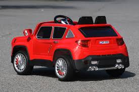 toy jeep car jeep renegade ride on toy car 12volts remote control red ride on