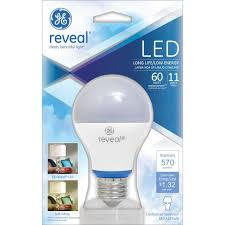 Type G Led Light Bulb by Ge Lighting 69204 Reveal Led 11 Watt 60 Watt Equivalent 570