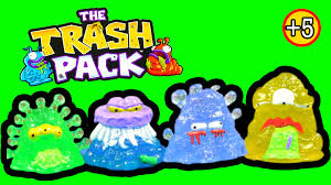 trash pack series 7 junk germs surprise test tubes toy review