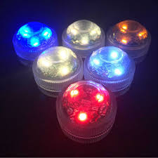 submersible led tea lights 12pcs lot 100 waterproof led tea light for wedding party events